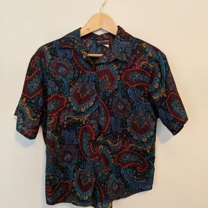 Vintage shirt sleeve button up